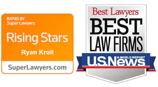 Best Law Firms Ryan Kroll Rising Stars