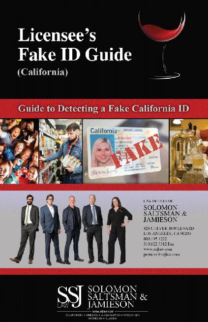 Fake ID Guide - LA California ABC Attorneys